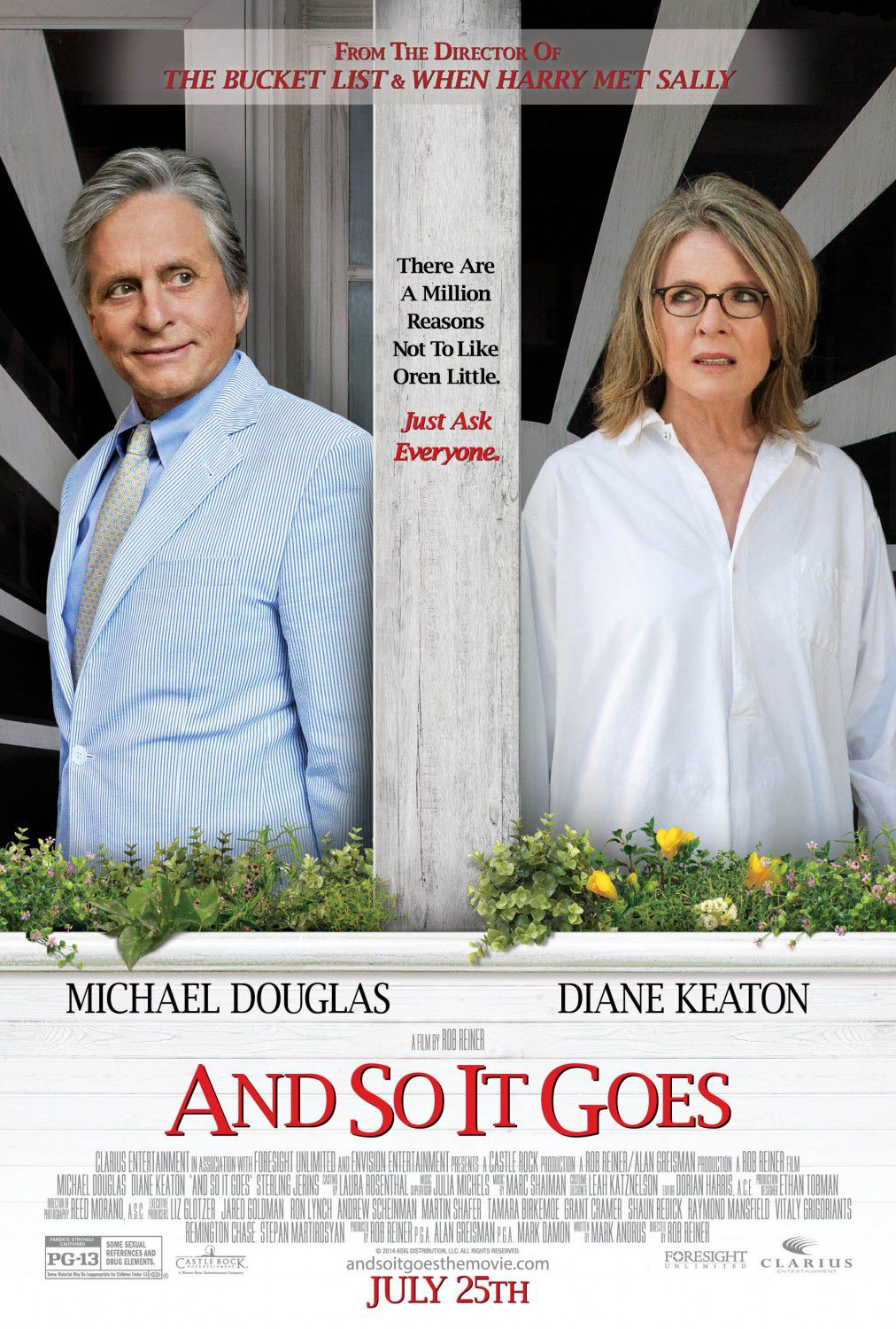 And so it goes - Romance - Diane Keaton - Michael Douglas - film poster