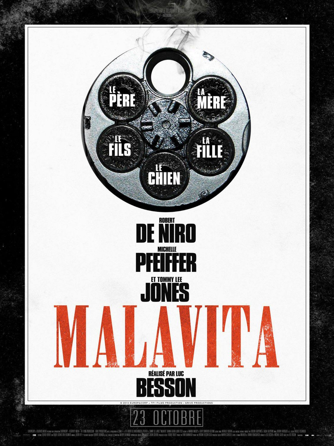 Cose nostre - Malavita - the Family - Luc Besson film poster