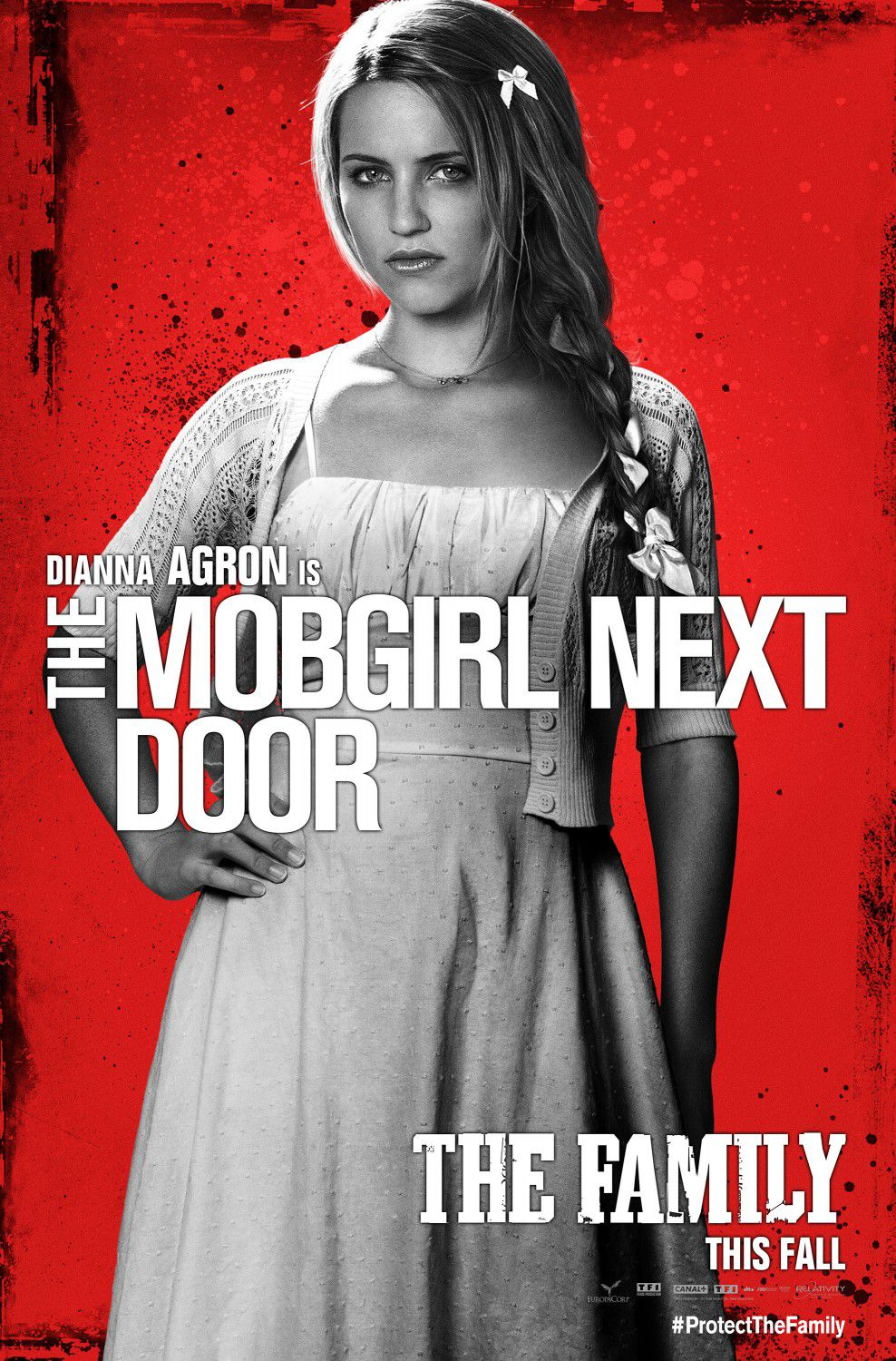 Cose nostre - Malavita - the Family - Dianna Agron - Mobgirl next door poster