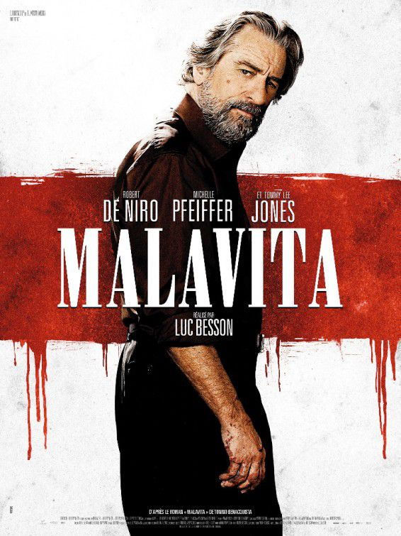 Cose nostre - Malavita - the Family - Robert DeNiro - poster