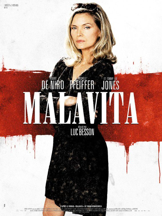 Cose nostre - Malavita - the Family - Michelle Pfeiffer - poster