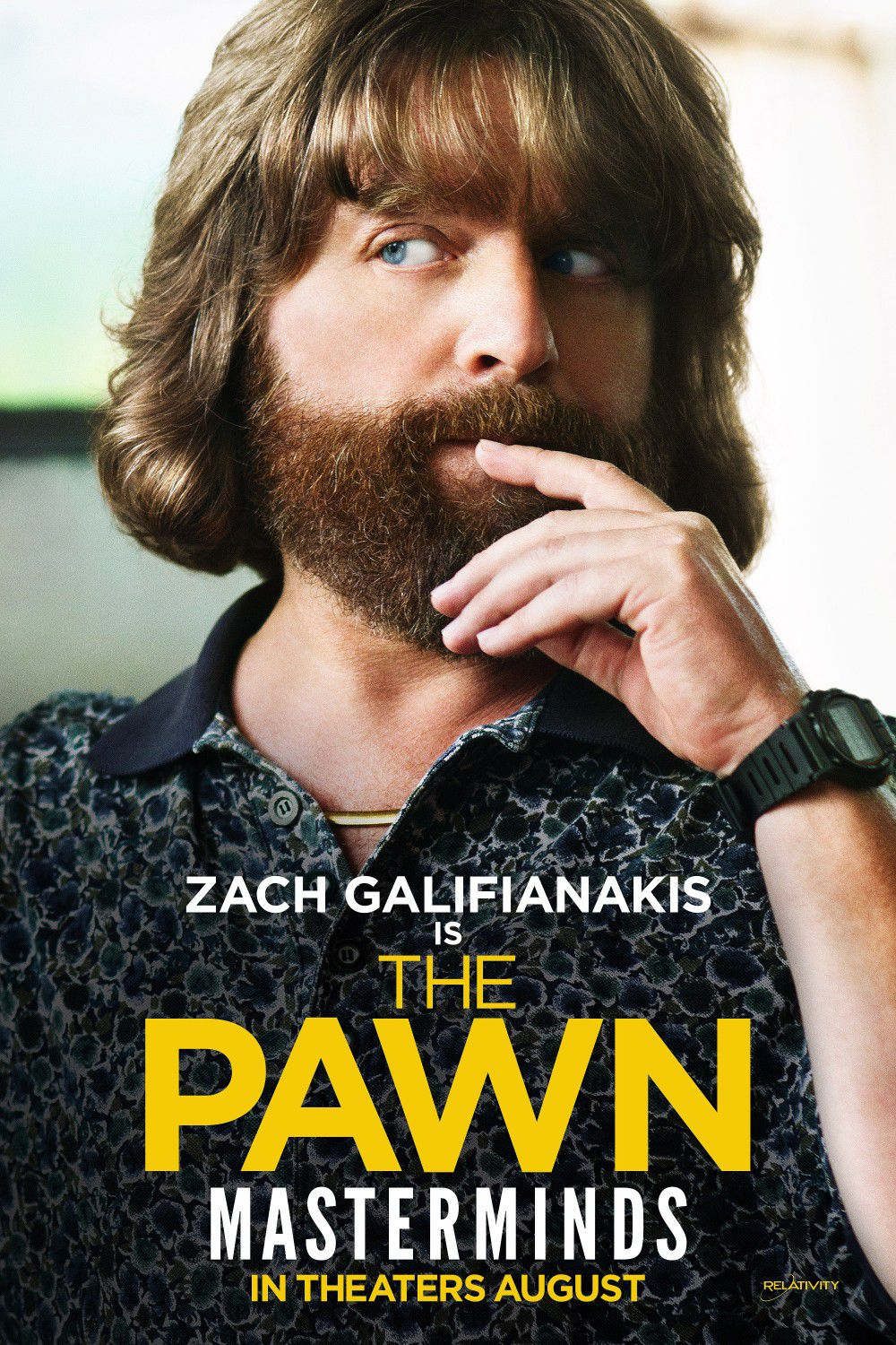 Masterminds - I Geni della Truffa - Zach Galifianakis - the Pawn Loser