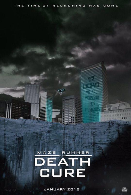 Maze Runner 3 - The Death Cure - la Rivelazione - continua la saga direttamente dal Best Seller di James Dashner - film poster