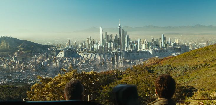 Maze Runner 3 - The Death Cure - la Rivelazione - scene - city