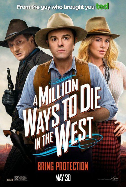 Million ways to Die in the West - Un milione di modi per morire nel West - poster