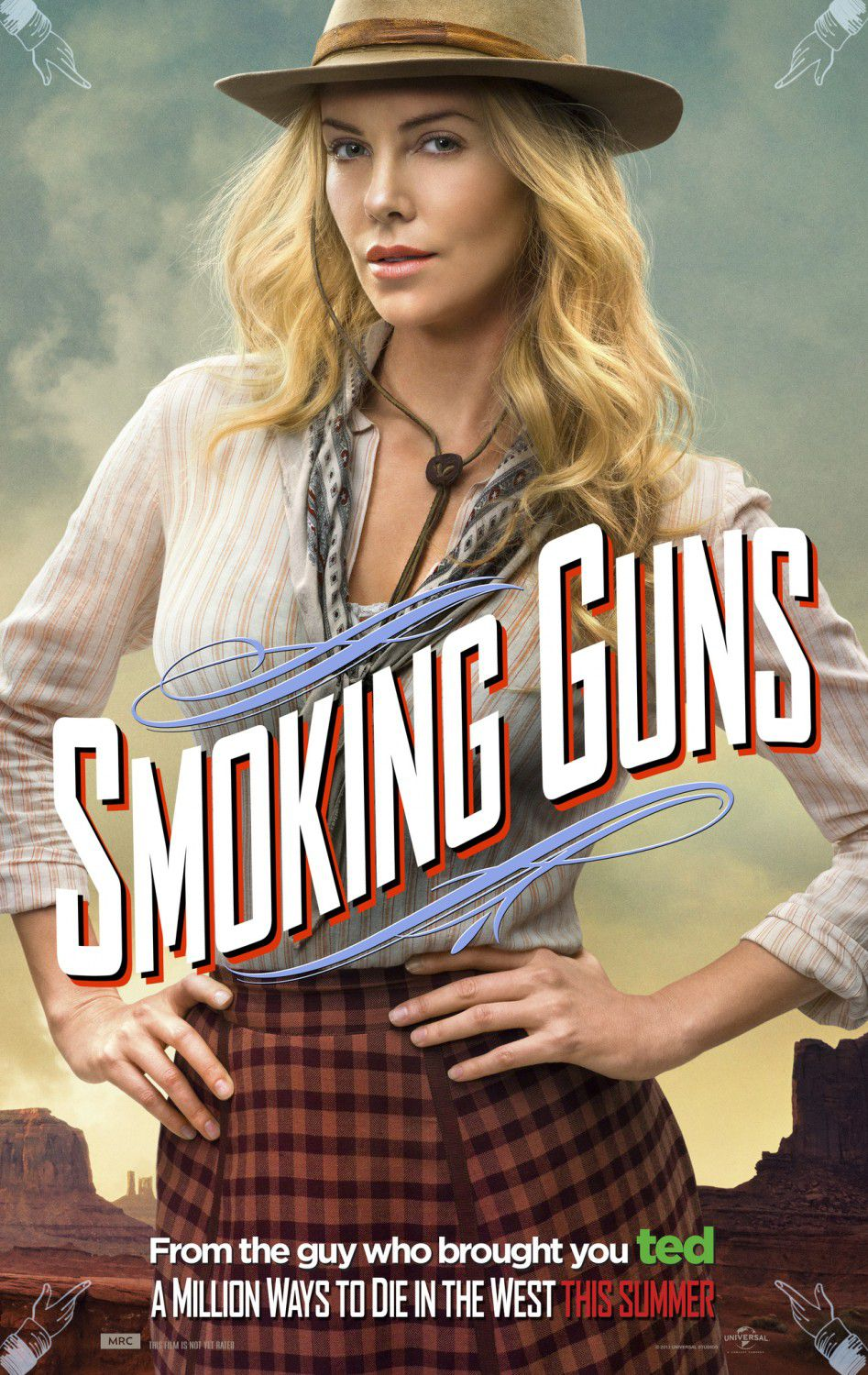 Million ways to Die in the West - Un milione di modi per morire nel West - Smoking Guns - Charlize Theron