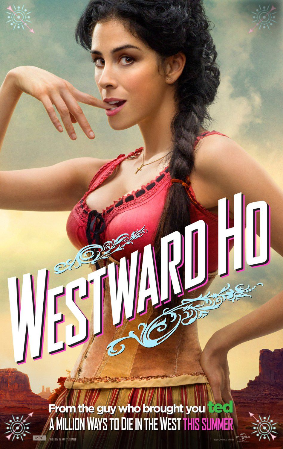 Million ways to Die in the West - Un milione di modi per morire nel West - Westward Ho