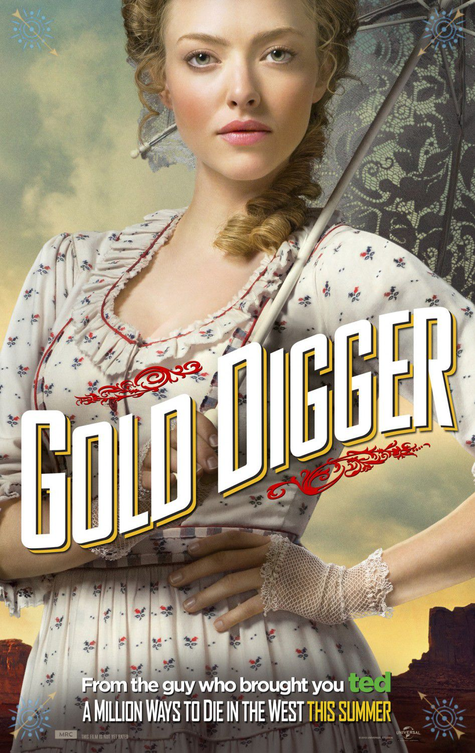 Million ways to Die in the West - Un milione di modi per morire nel West - Gold Digger - Amanda Seyfried