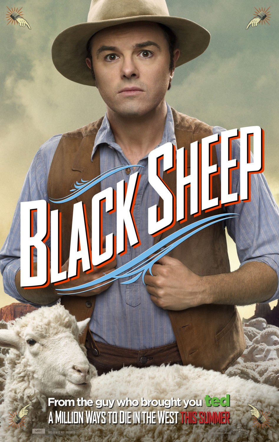 Million ways to Die in the West - Un milione di modi per morire nel West - Black Sheep - Seth Macfarlane