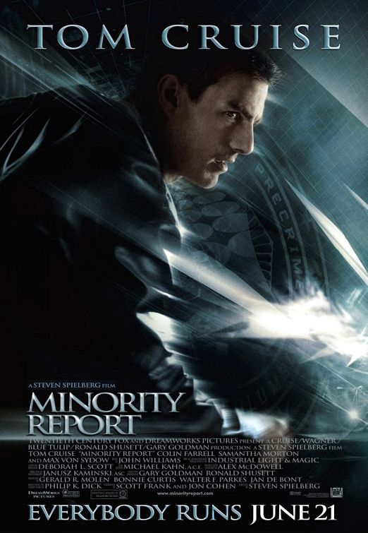 Minority report - Tom Cruise