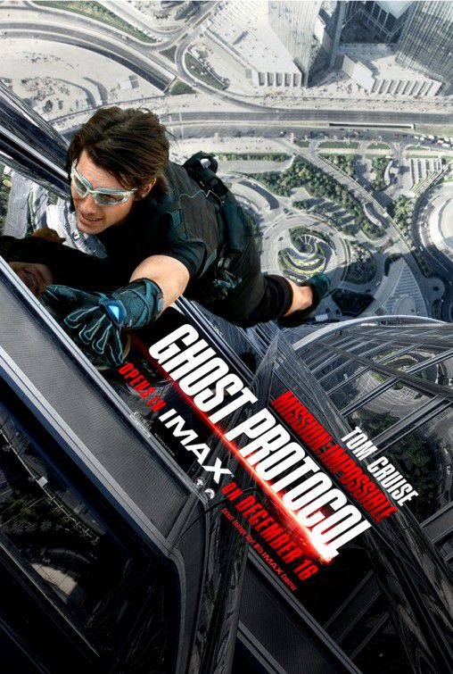 Mission Impossible - Ghost Protocol - poster