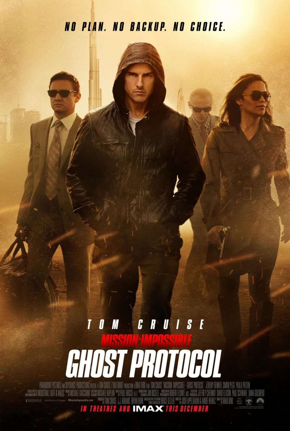 Mission Impossible - Ghost Protocol - Tom Cruise