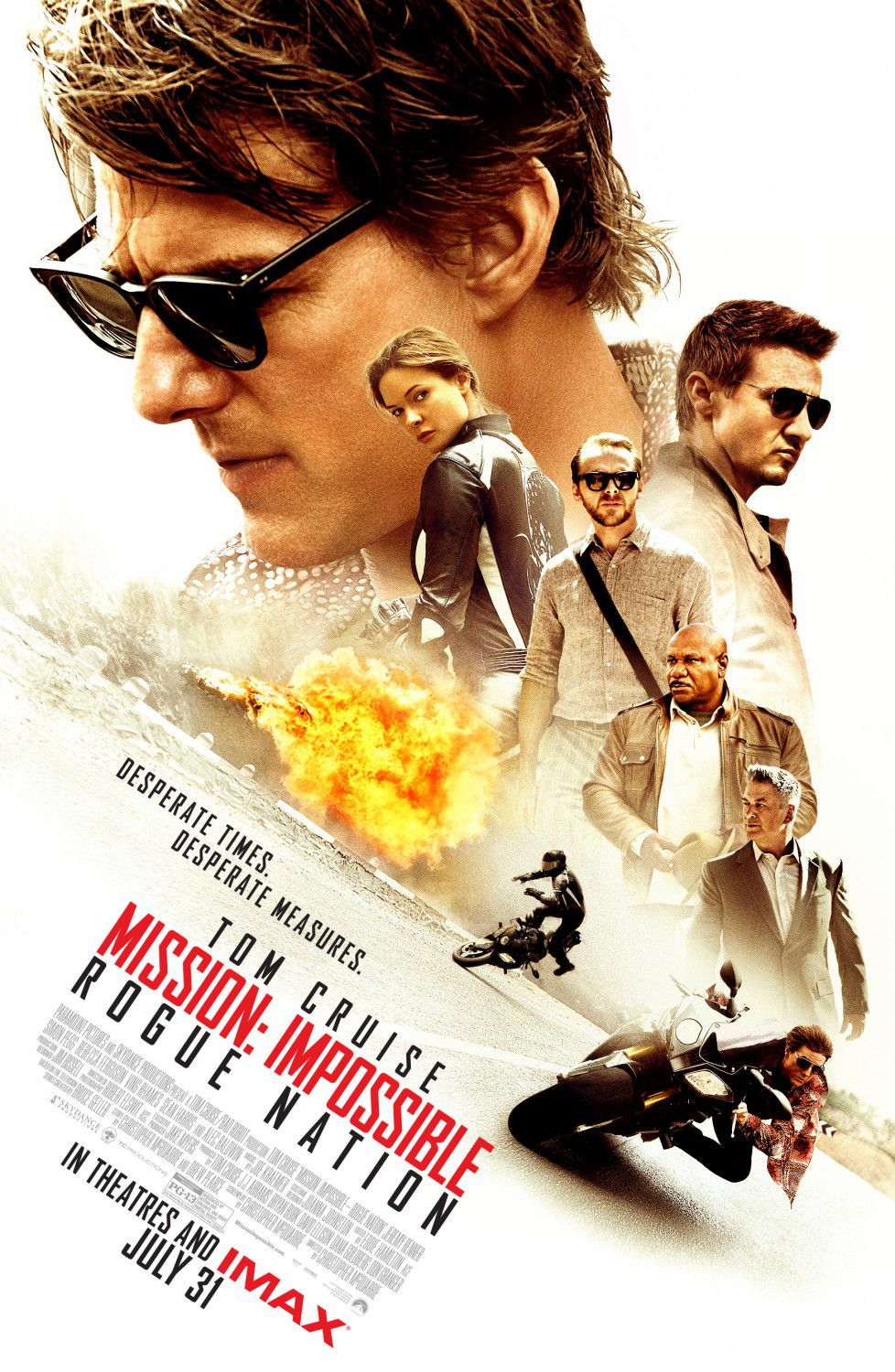 Mission Impossible - Rogue Nation - Tom Cruise