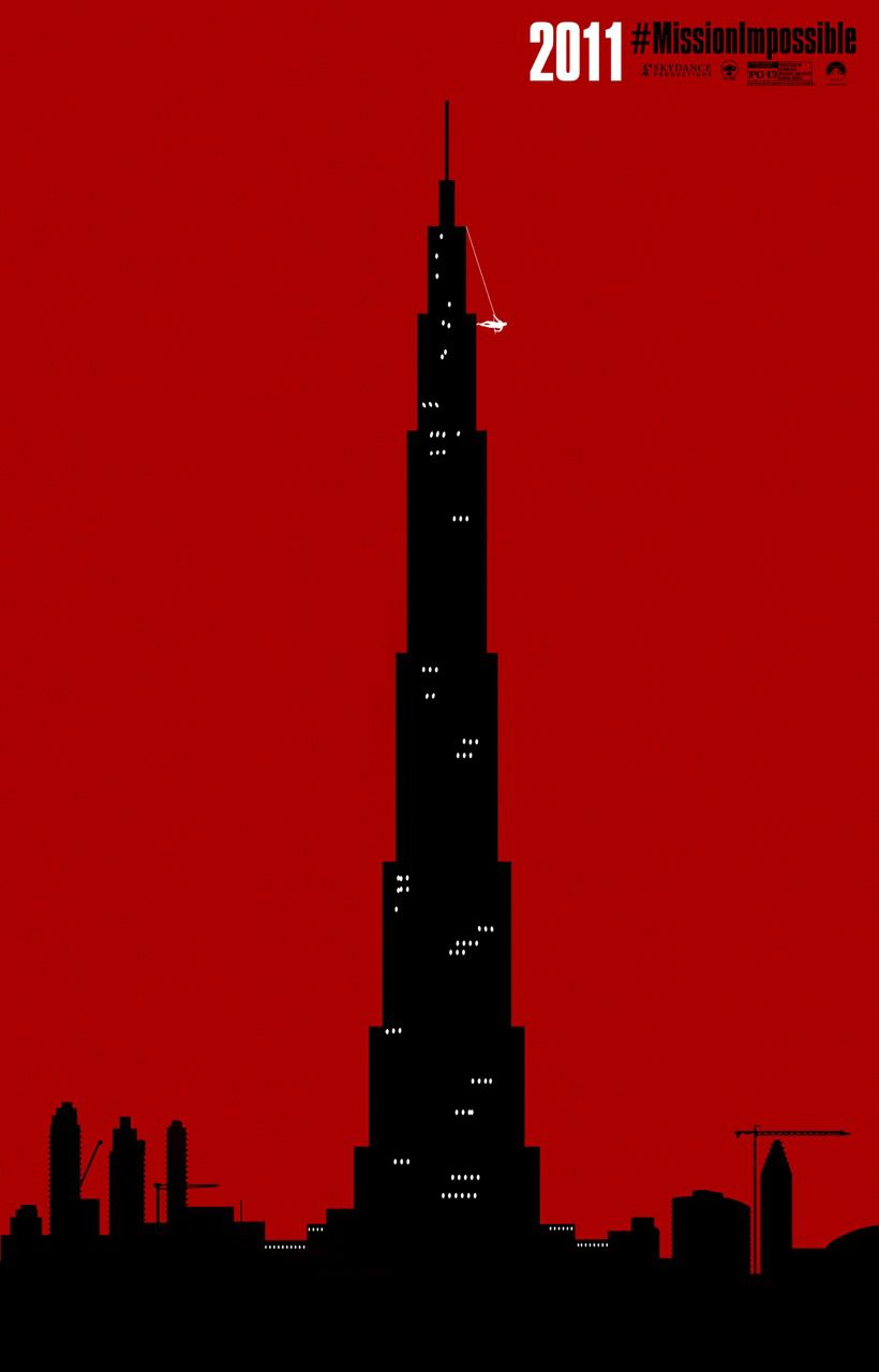Mission Impossible - Rogue Nation - red poster