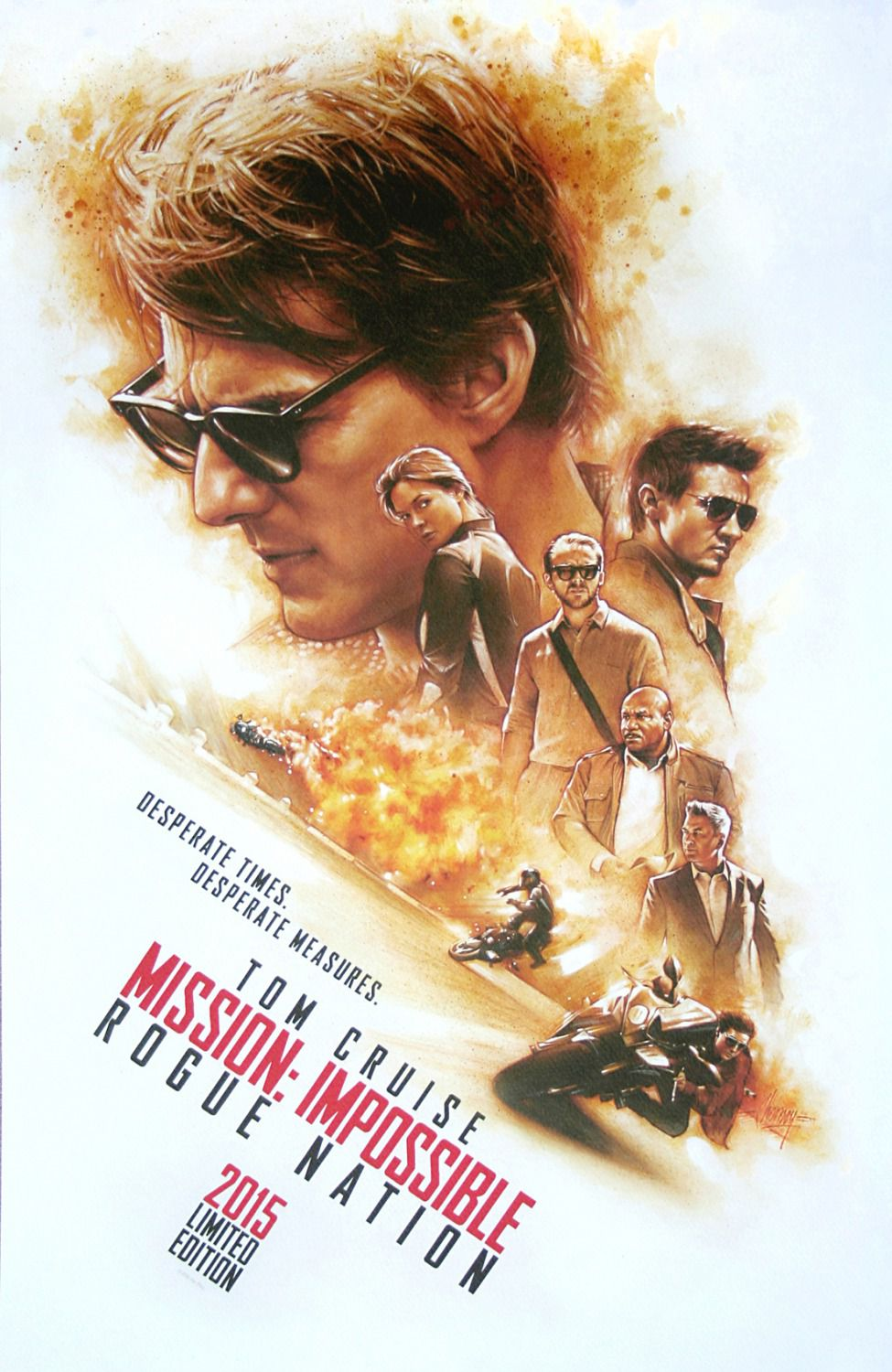 Mission Impossible - Rogue Nation - poster