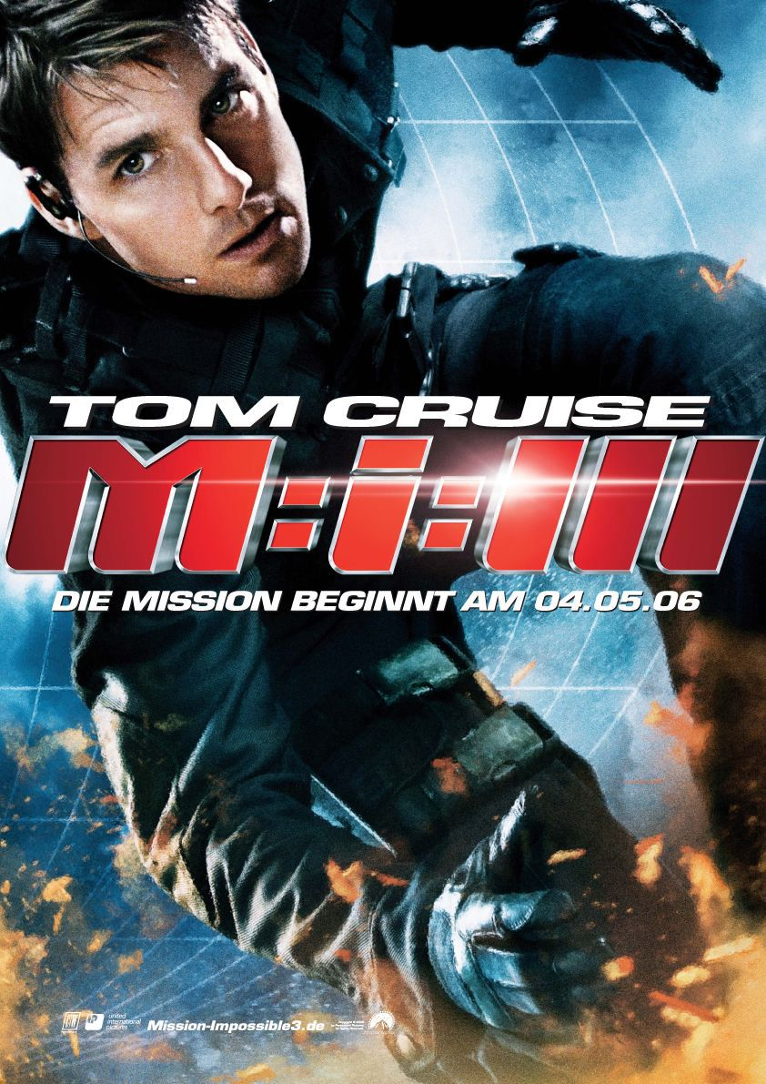 Mission Impossible 3 - poster