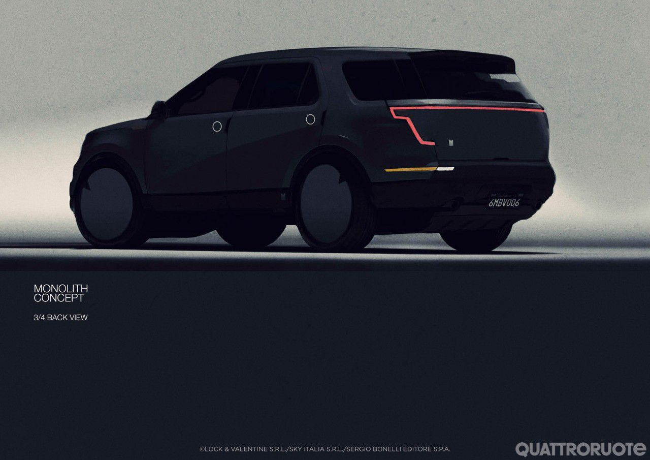 Film - Monolith car future thriller
