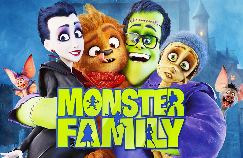 Monster Family - cartoon film animated