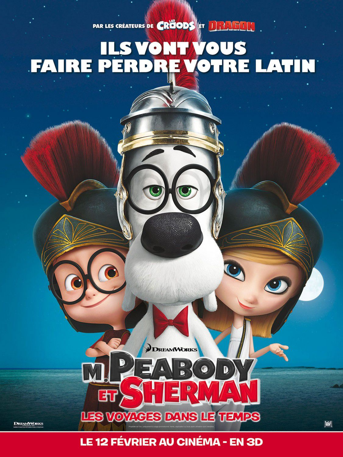 Mr Peabody and Sherman - animate film poster - Roman Empire - Impero Romano