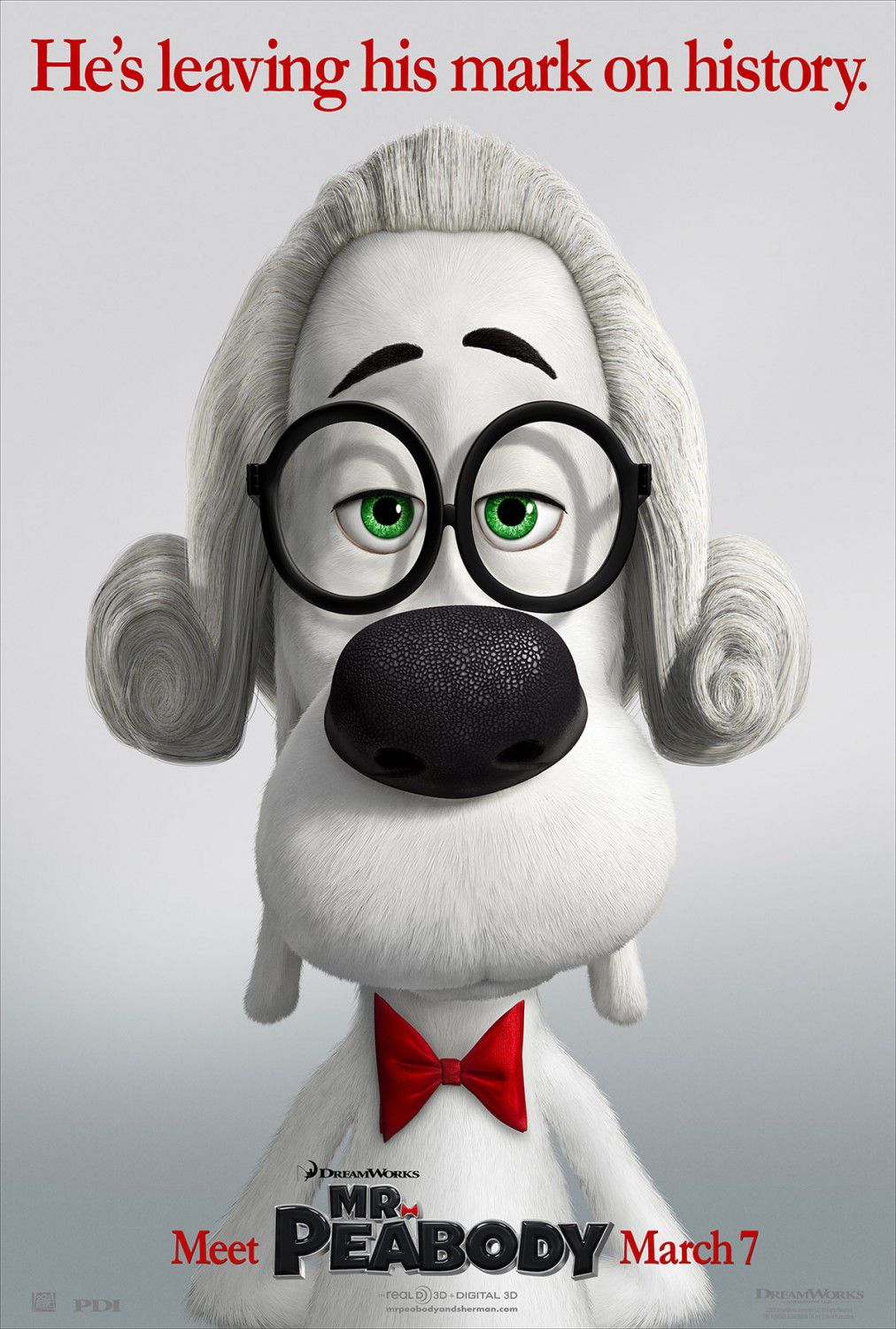 Mr Peabody and Sherman - animate film poster