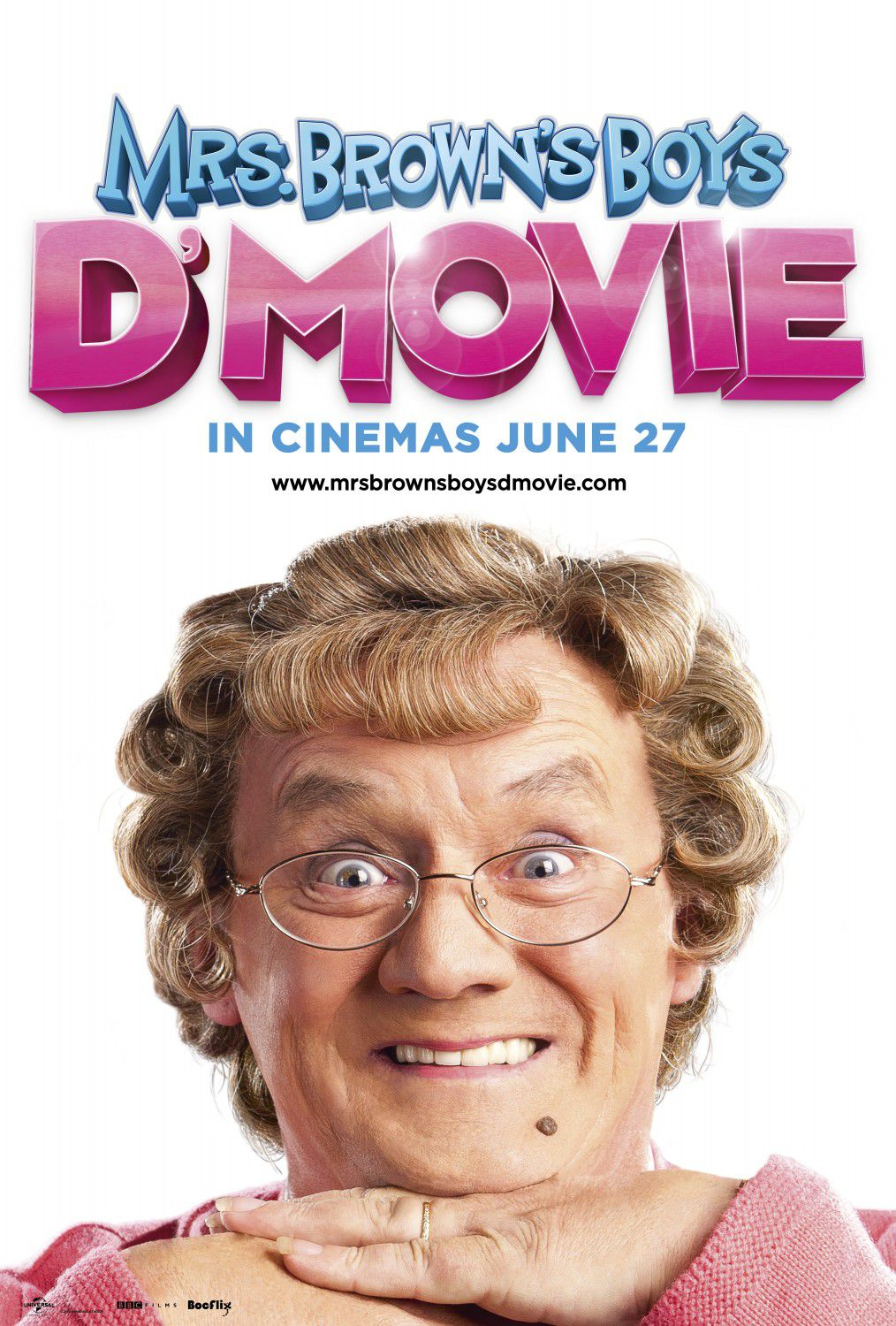 Mrs Browns Boys D Movie - film poster - comedy