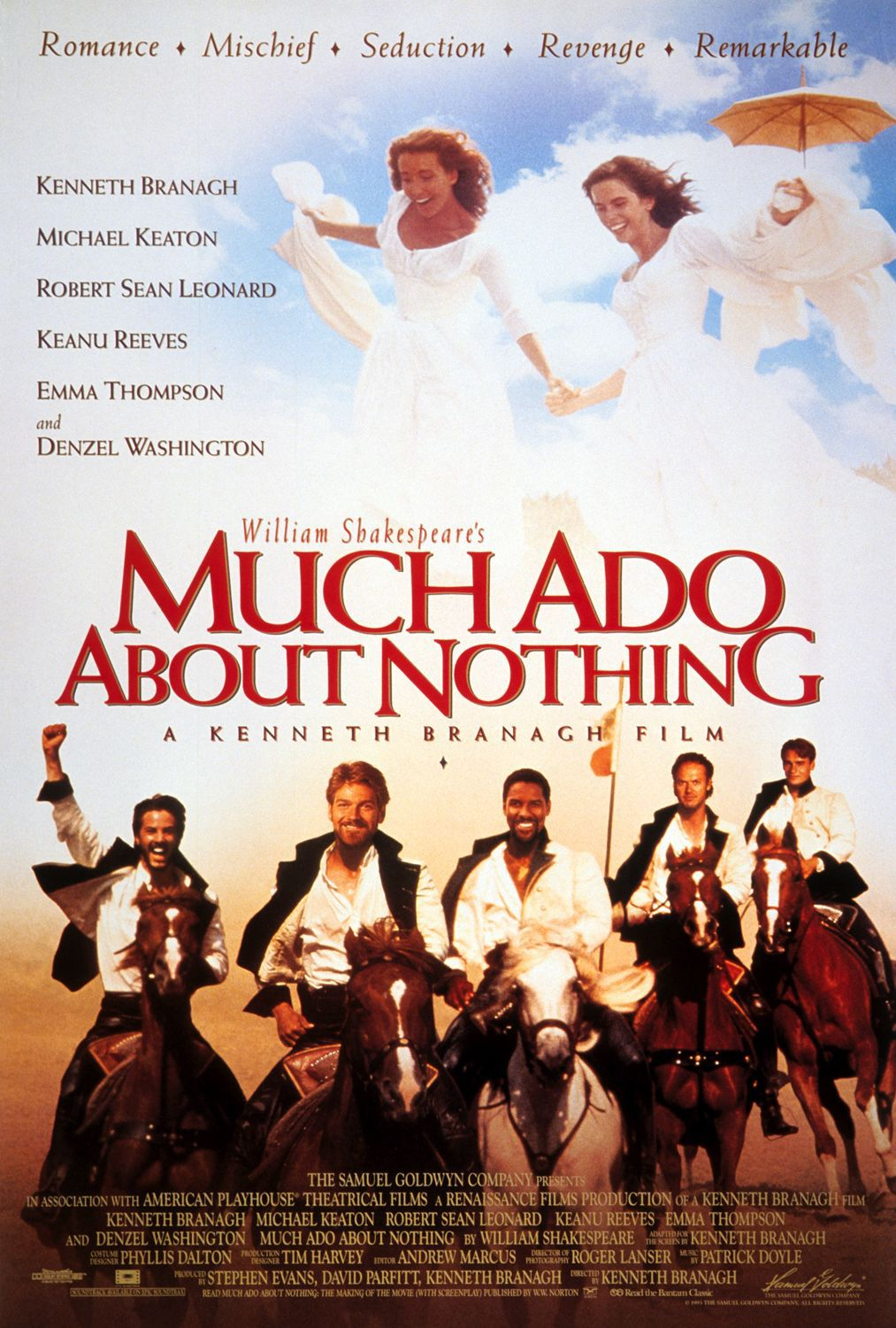 Much ado about nothing - Molto Rumore per Nulla (1993)