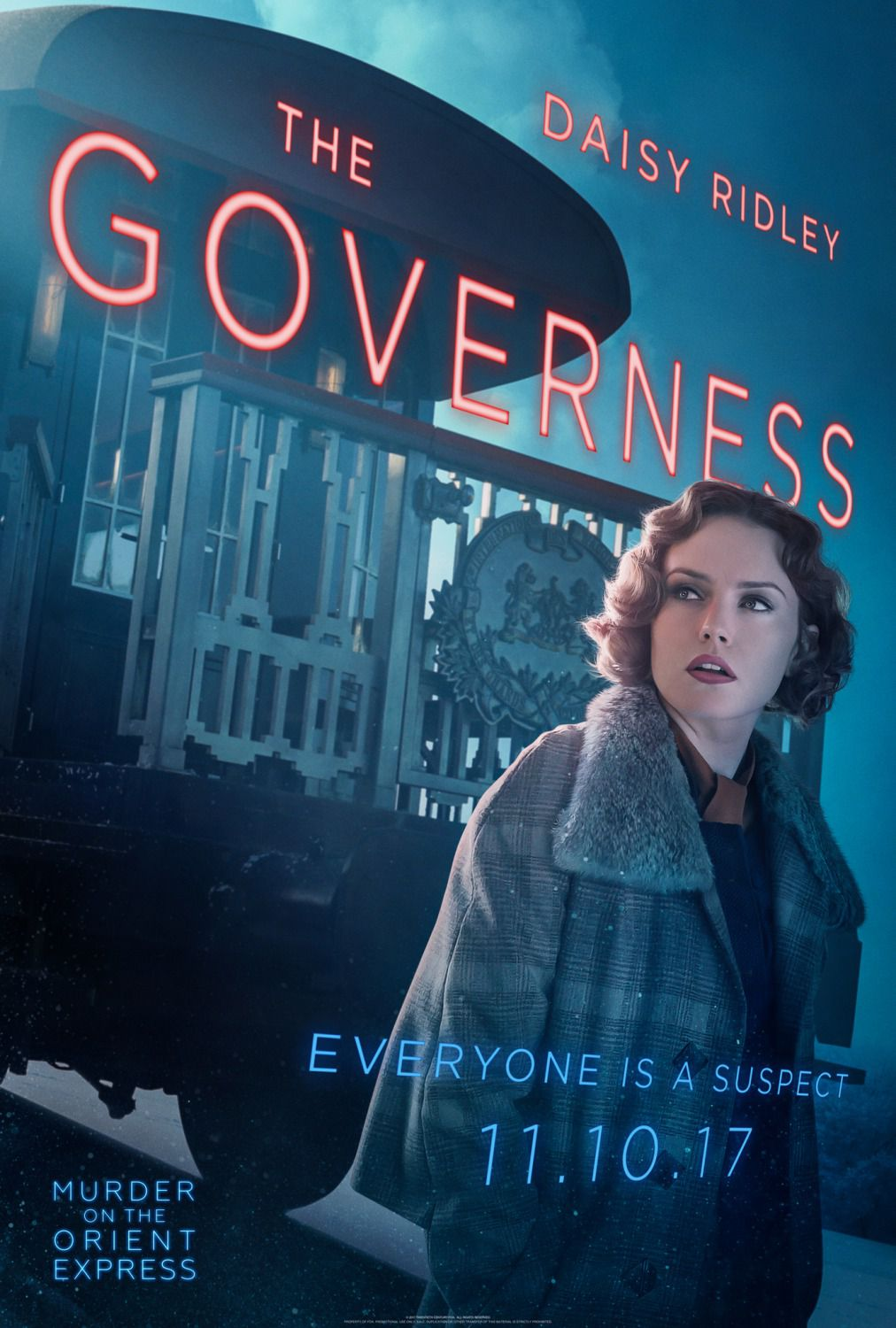 Daisy Ridley - Governess