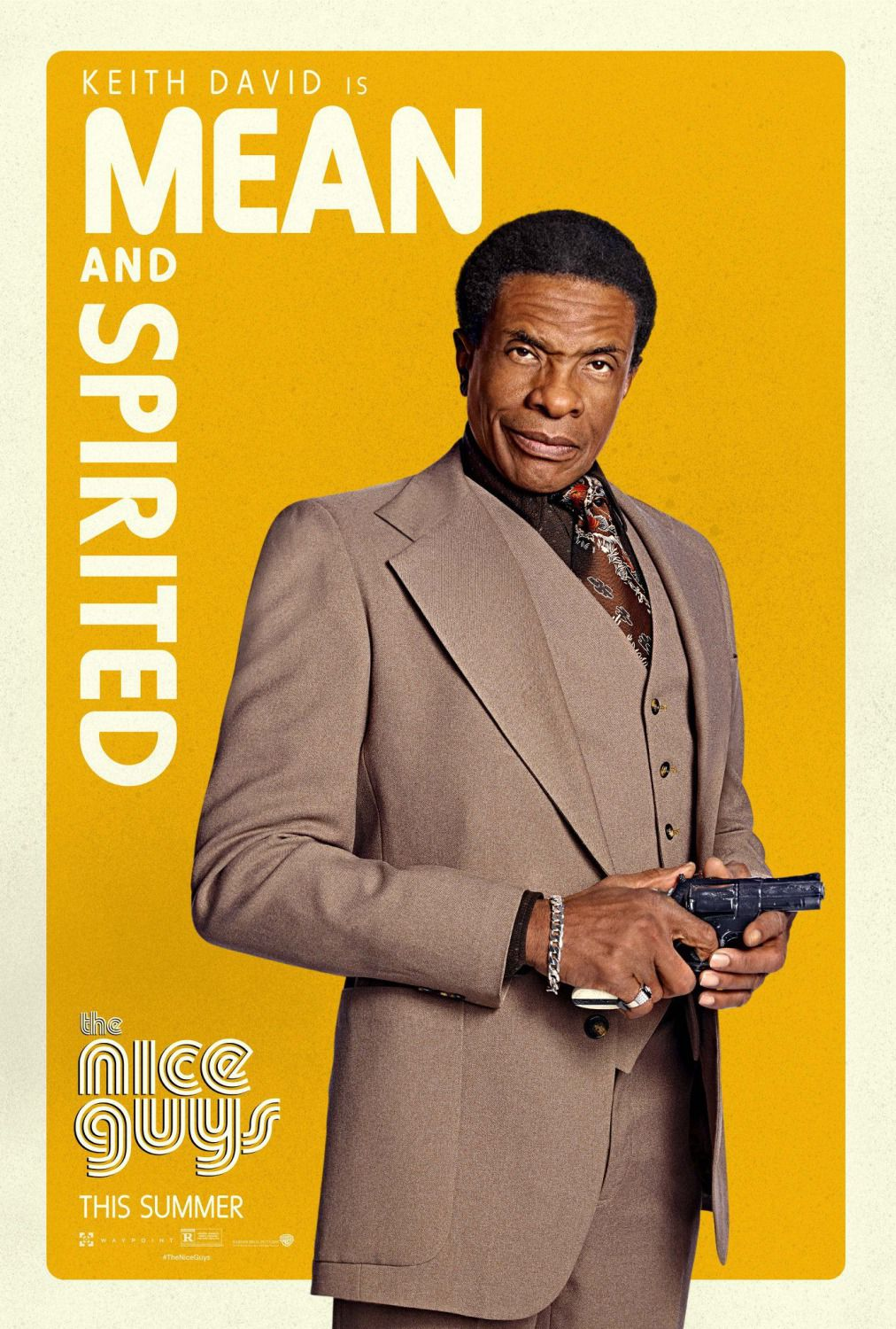 Nice Guys - Keith David - film poster