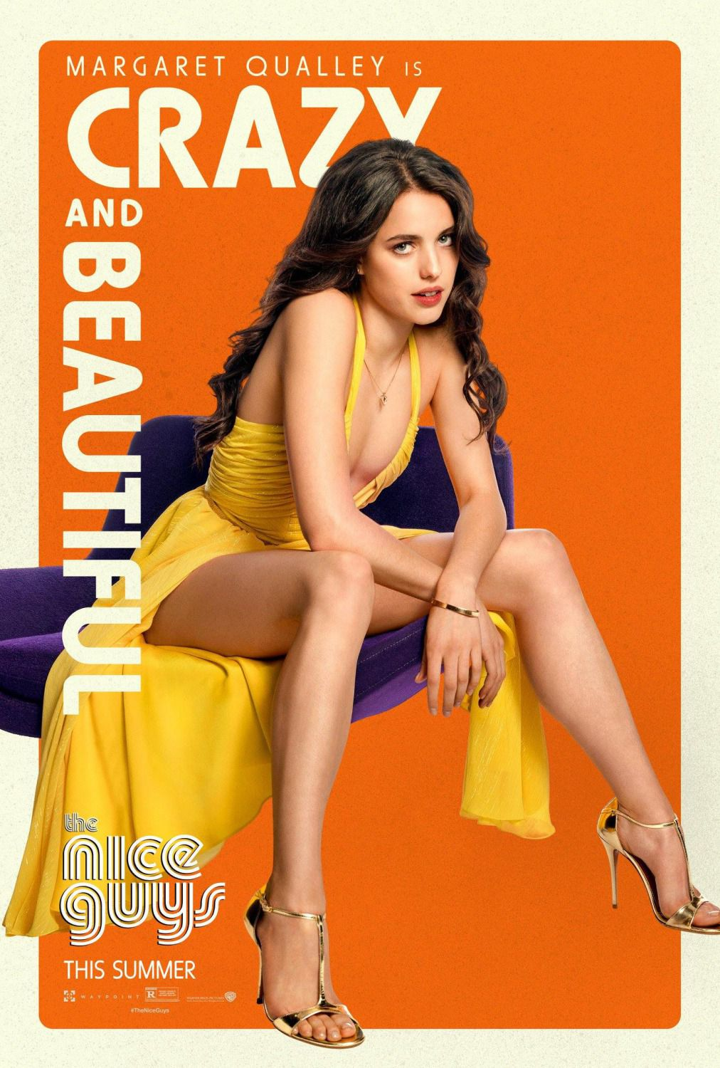 Nice Guys - Margaret Qualley - film poster