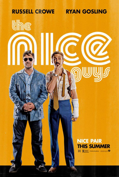 Nice Guys - divertente commedia con Ryan Gosling e Russell Crowe