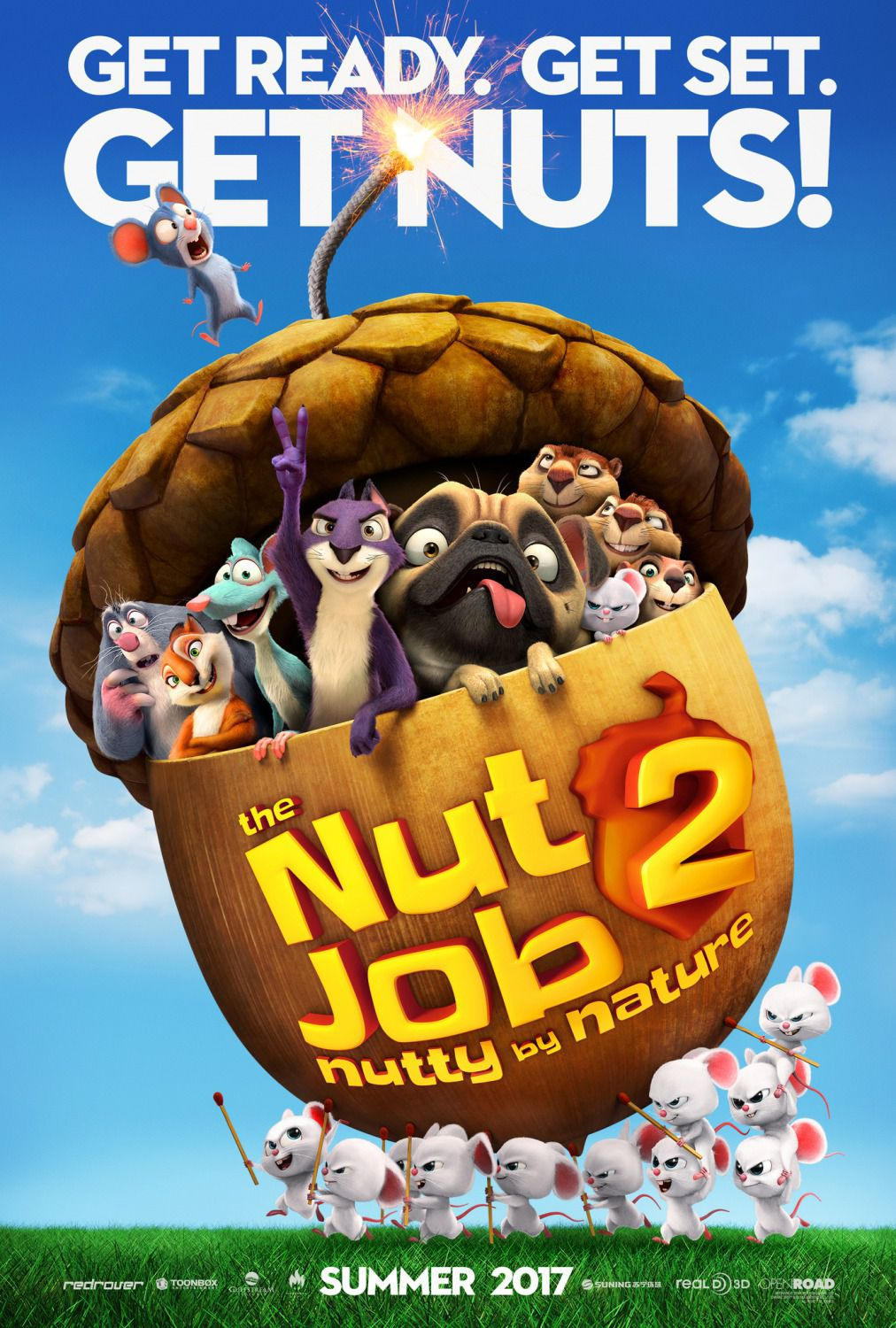 Film - The Nut Job 2 - Operazione Nocciolina 2 - Nutty by Nature - poster
