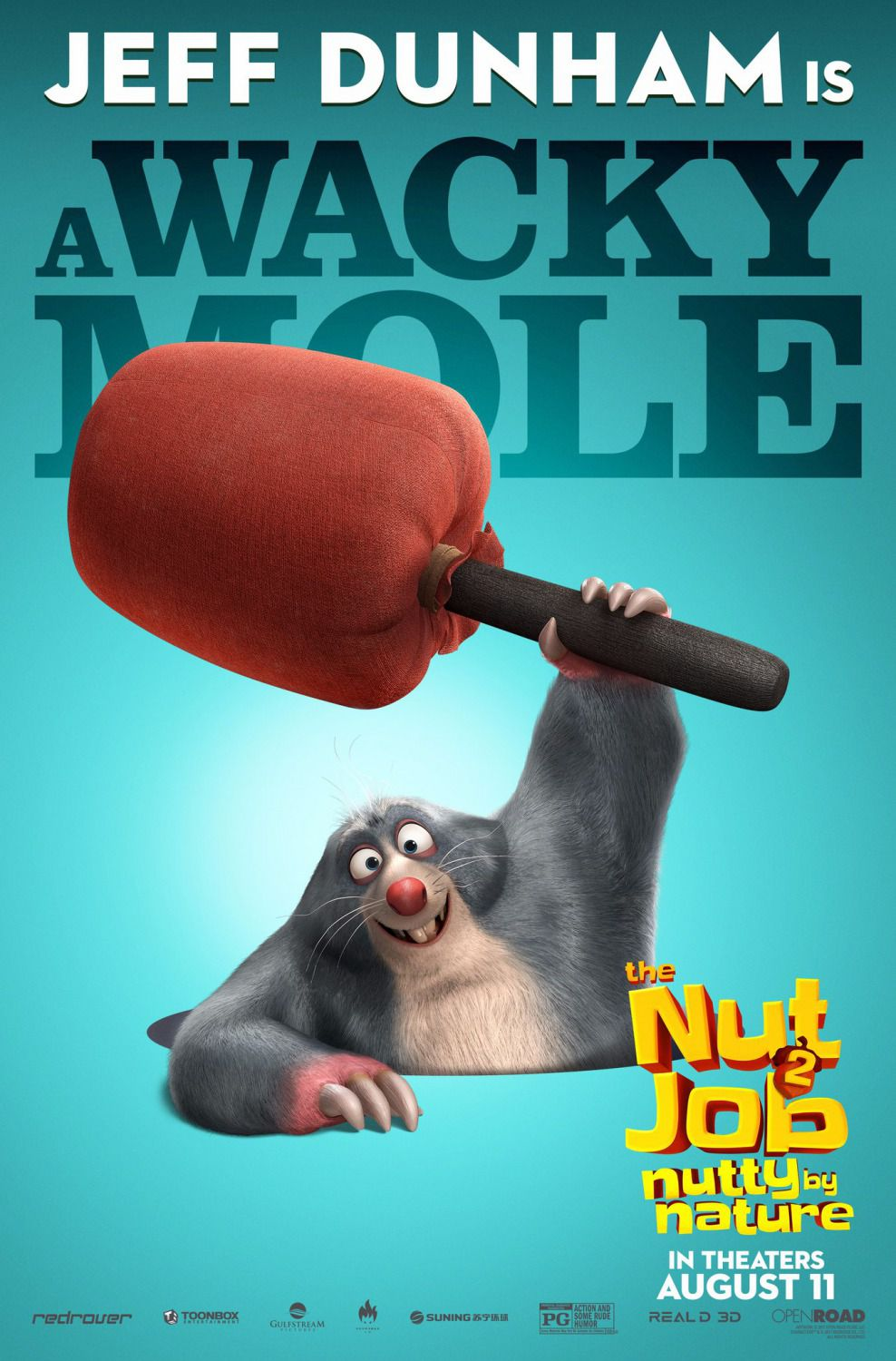 Film - The Nut Job 2 - Operazione Nocciolina 2 - Nutty by Nature - Wacky Mole