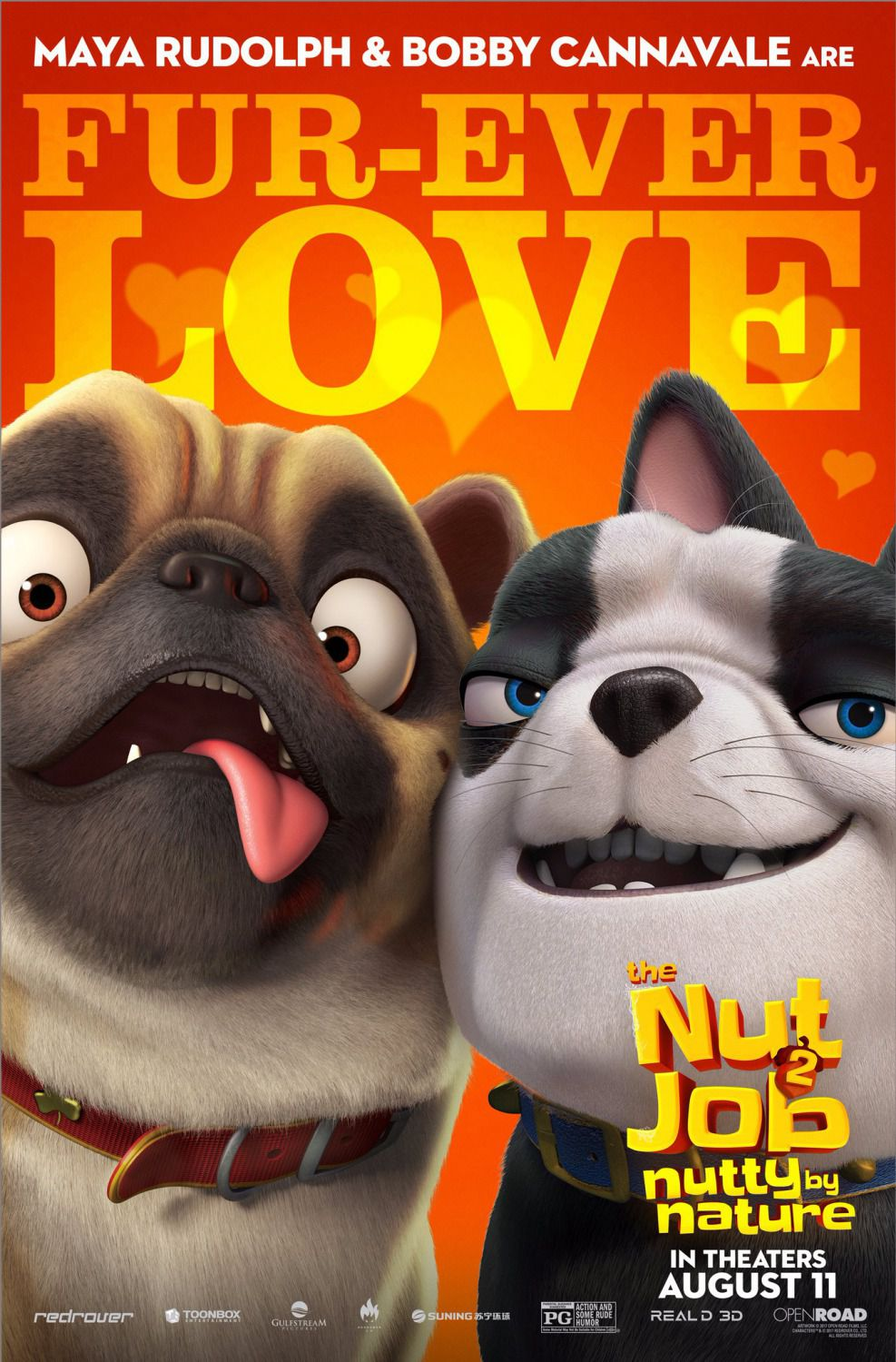 Film - The Nut Job 2 - Operazione Nocciolina 2 - Nutty by Nature - Fur-Ever Love