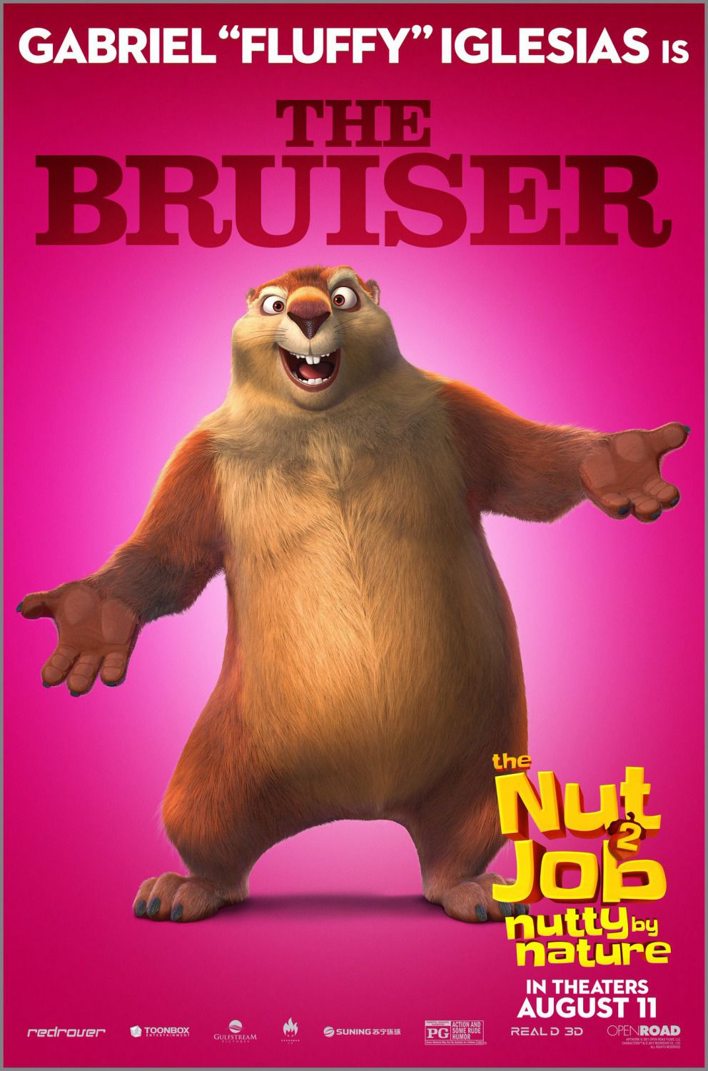 Film - The Nut Job 2 - Operazione Nocciolina 2 - Nutty by Nature - The Bruiser