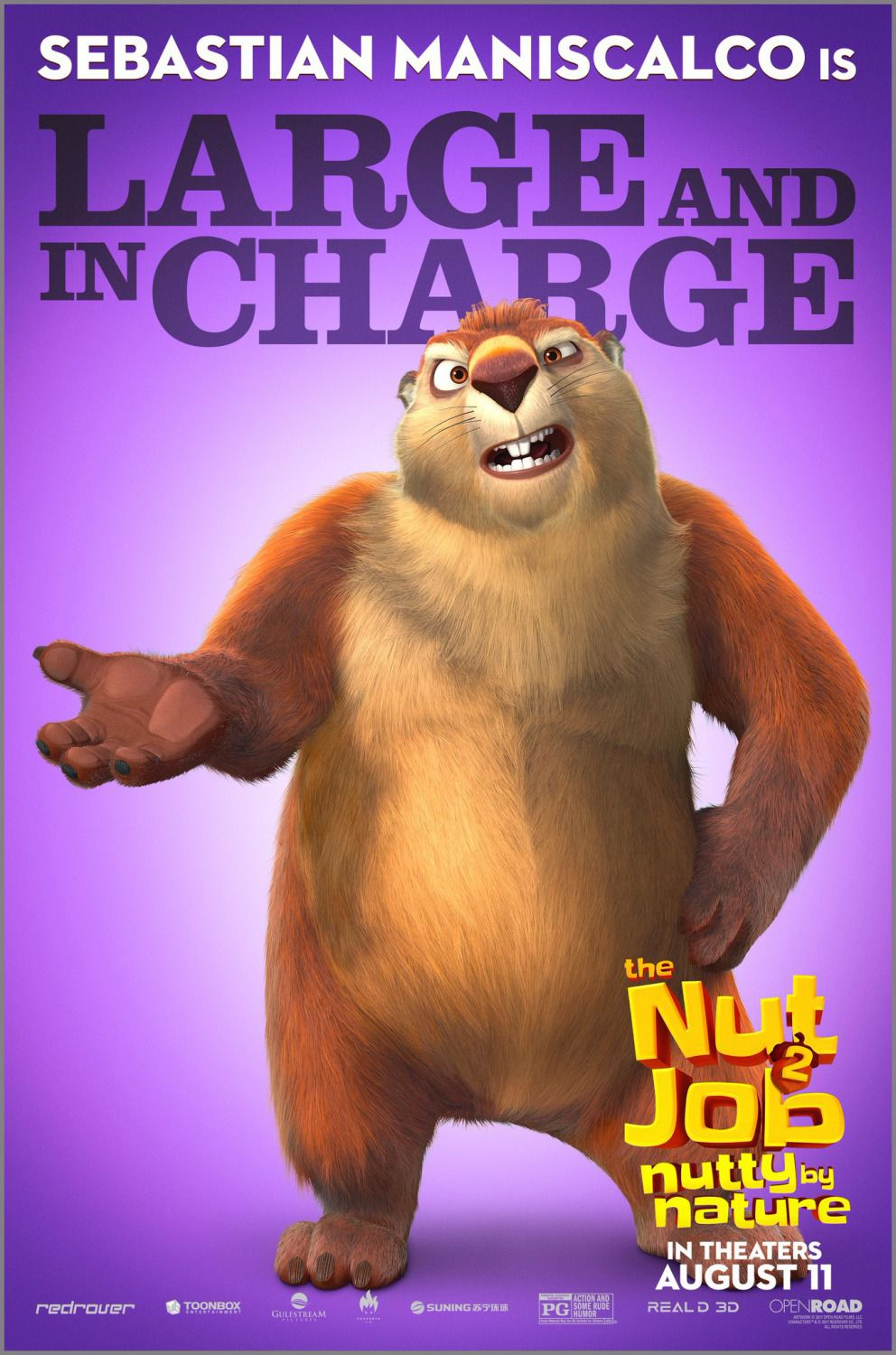Film - The Nut Job 2 - Operazione Nocciolina 2 - Nutty by Nature - Large and in Charge