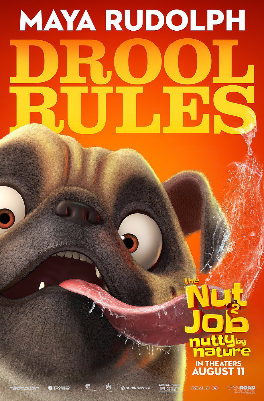 Film - The Nut Job 2 - Operazione Nocciolina 2 - Nutty by Nature - Drool Rules Carlino