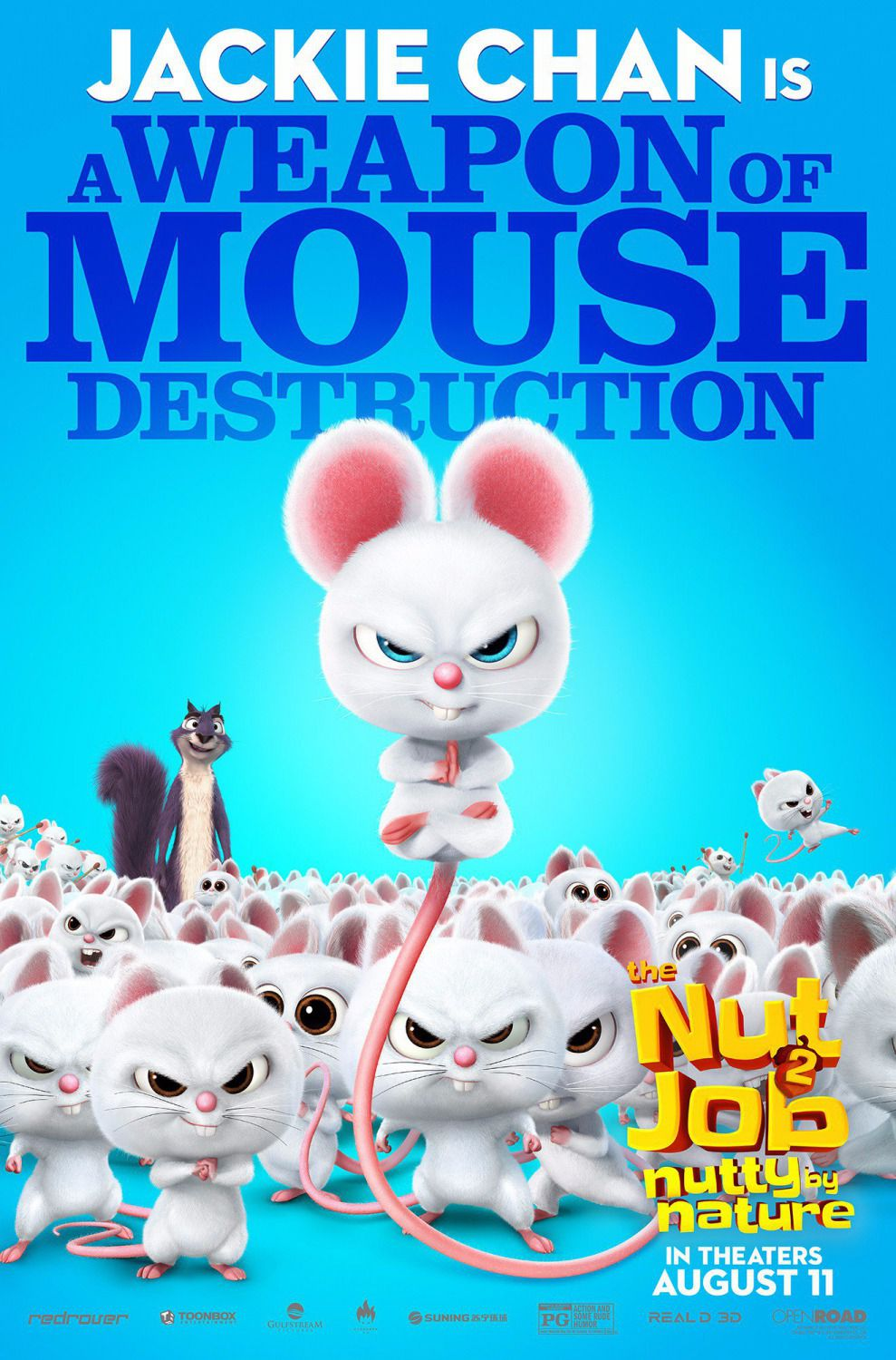 Film - The Nut Job 2 - Operazione Nocciolina 2 - Nutty by Nature - A Weapon of Mouse destruction