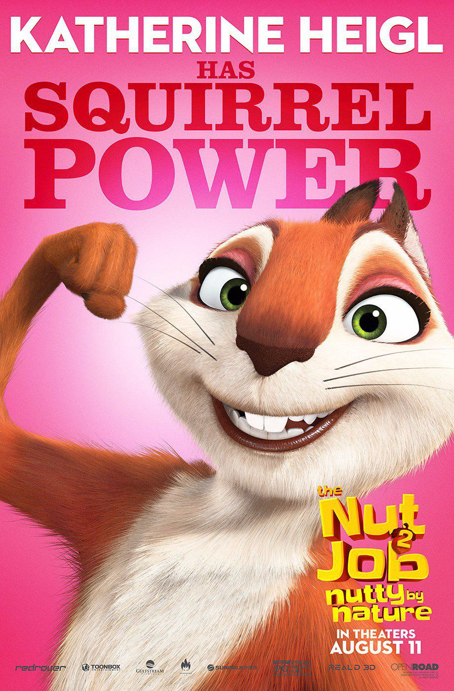 Film - The Nut Job 2 - Operazione Nocciolina 2 - Nutty by Nature - Squirrel Power