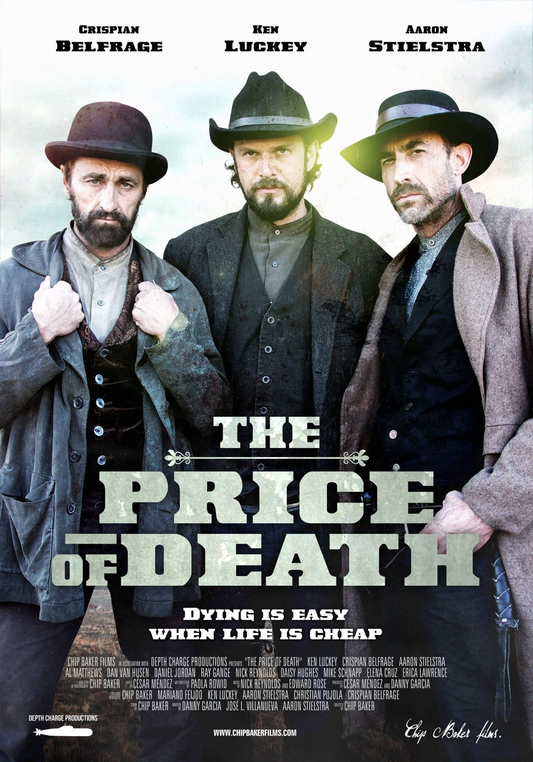 Price of Death - Crispian Belfrage - Ken Luckey - Aaron Stielstra - 2017 poster