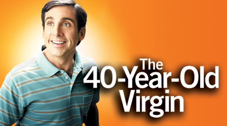 Quaranta anni Vergine - The 40 Year Old Virgin - Steve Carell - Paul Rudd - film poster