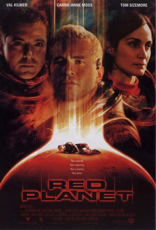 Red Planet - Val Kilmer, Carrie-Anne Moss, Tom Sizemore