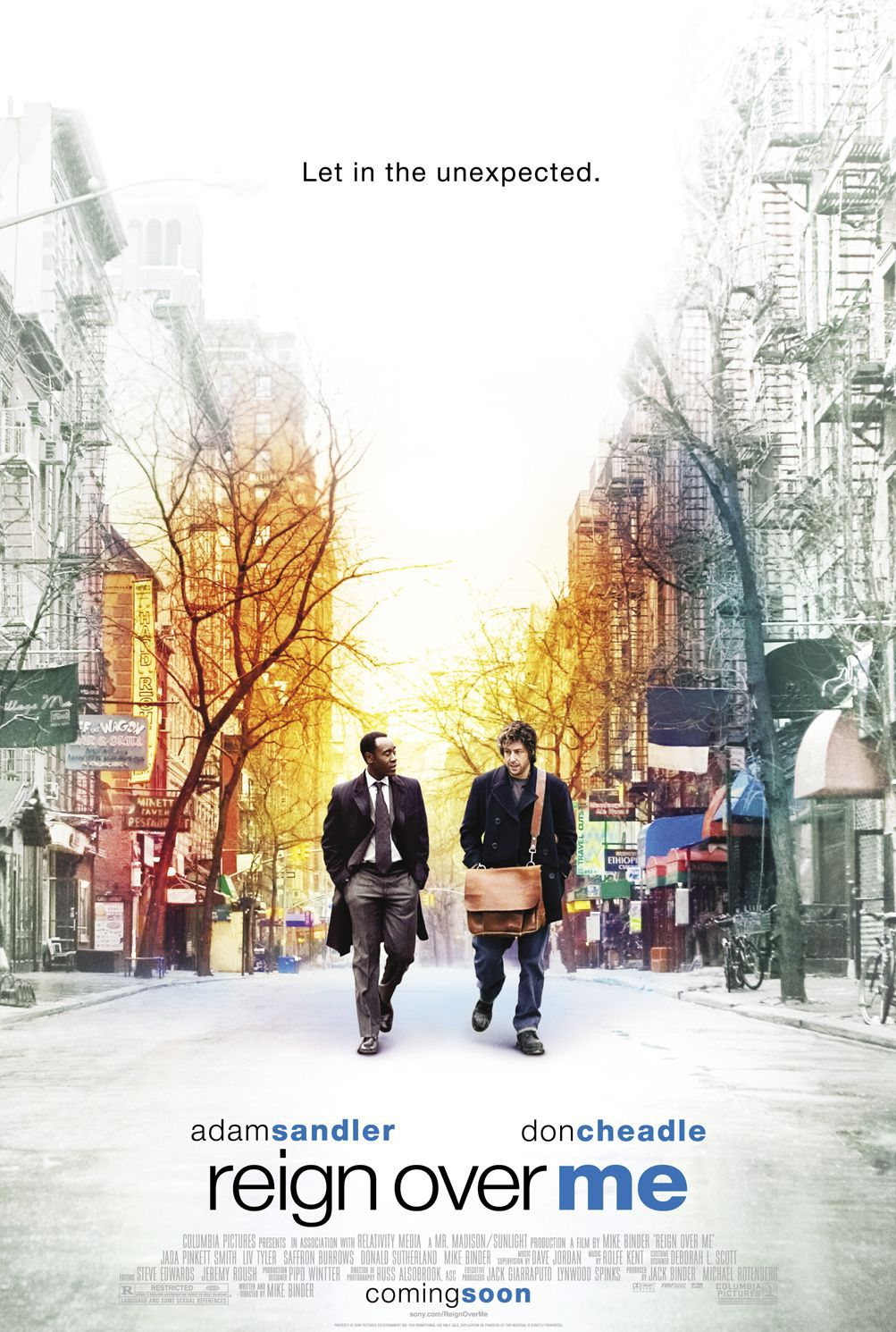 Reign Over Me - Adam Sandler - Don Cheadle