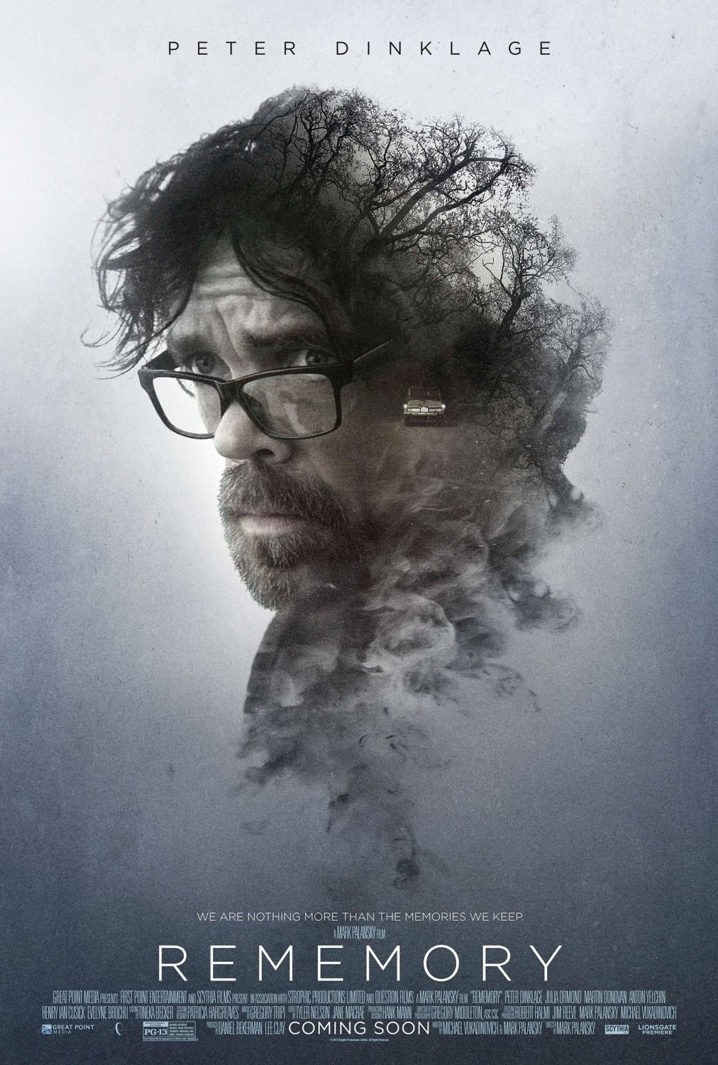 Rememory - Peter Dinklage - film poster