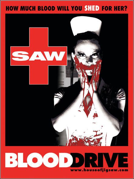 SAW - film poster - nurse