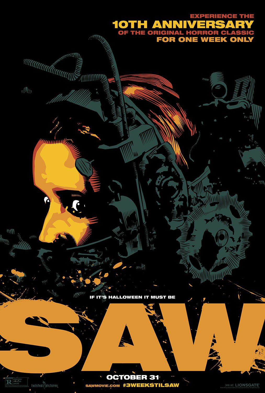 SAW - film poster