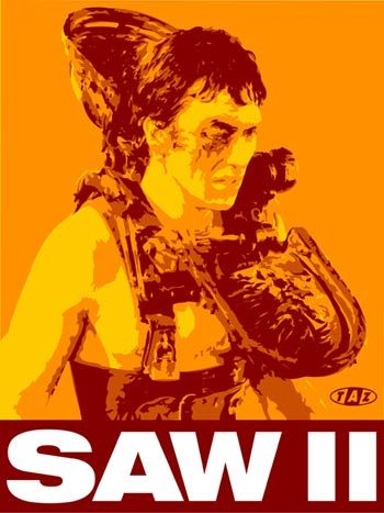 SAW 2 - film poster