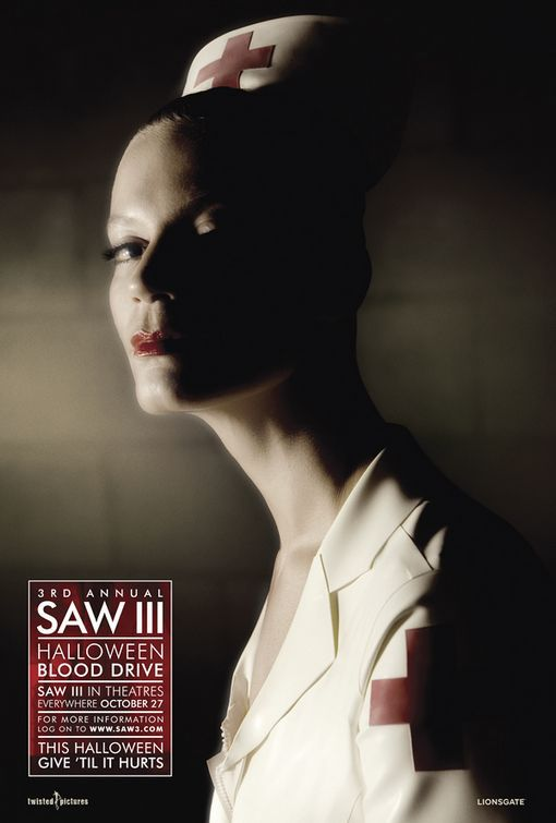 Saw 3 - film poster - nurse