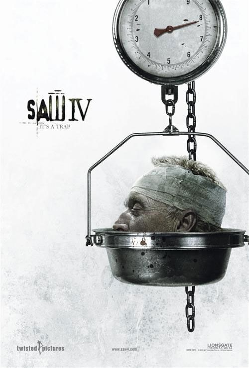 Saw 4 - film poster