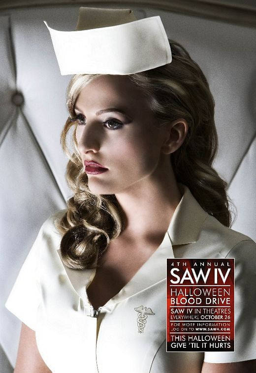 Saw 4 - film poster - nurse