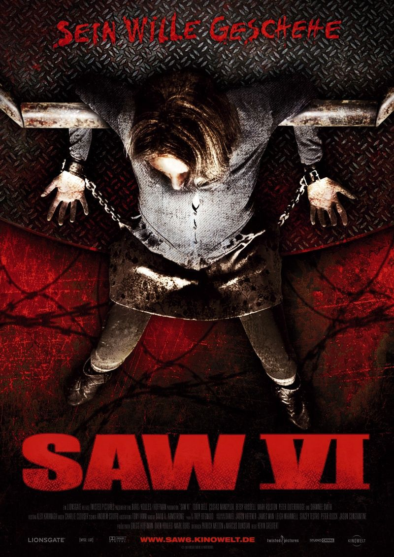 Saw 6 - film poster